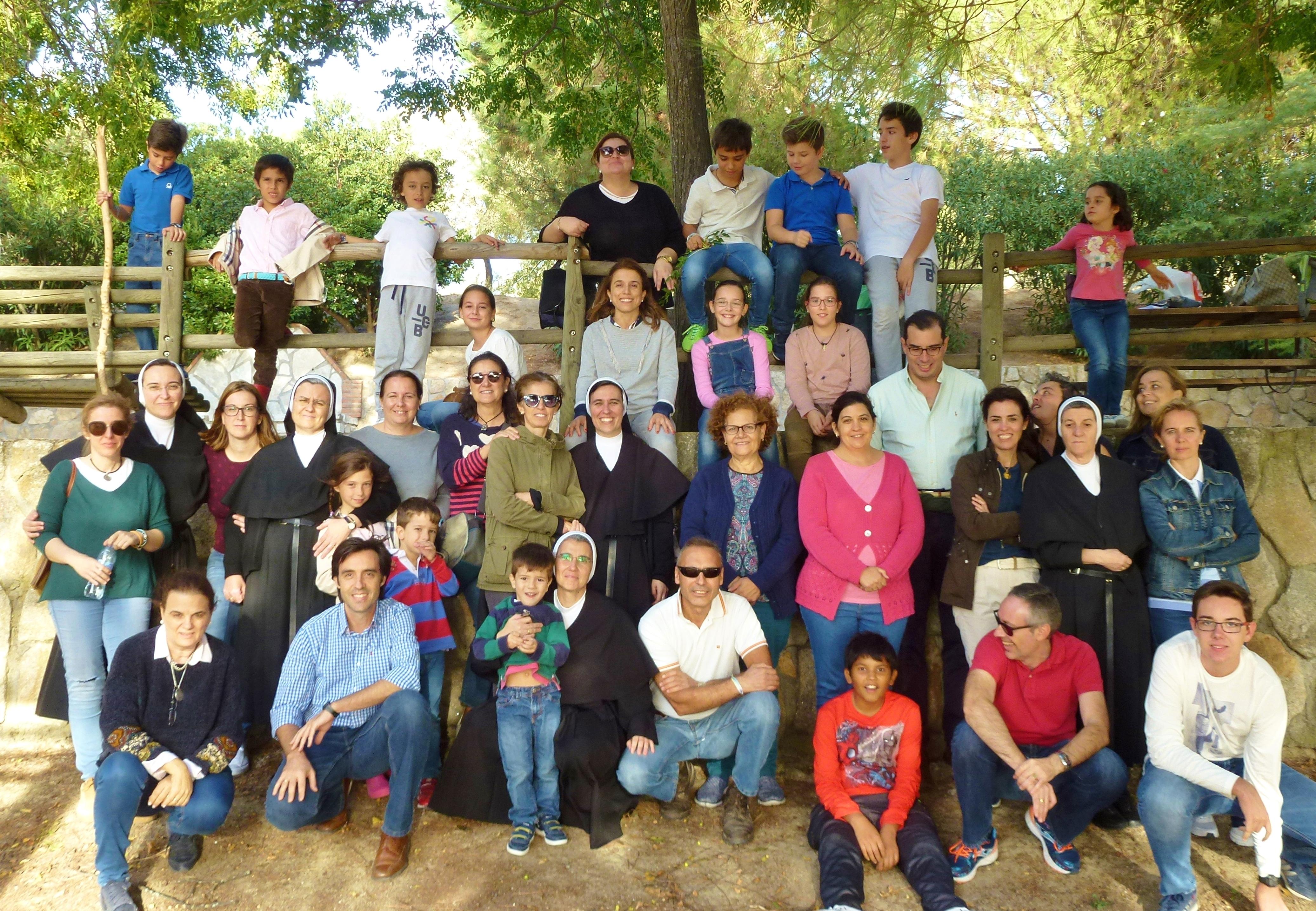 Convivencia del Grupo Santa Mónica bajo el lema:» Identidad de un grupo agustiniano».