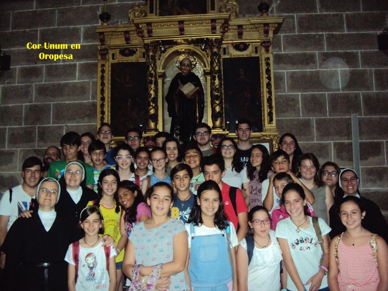 El grupo Cor Unum en Oropesa