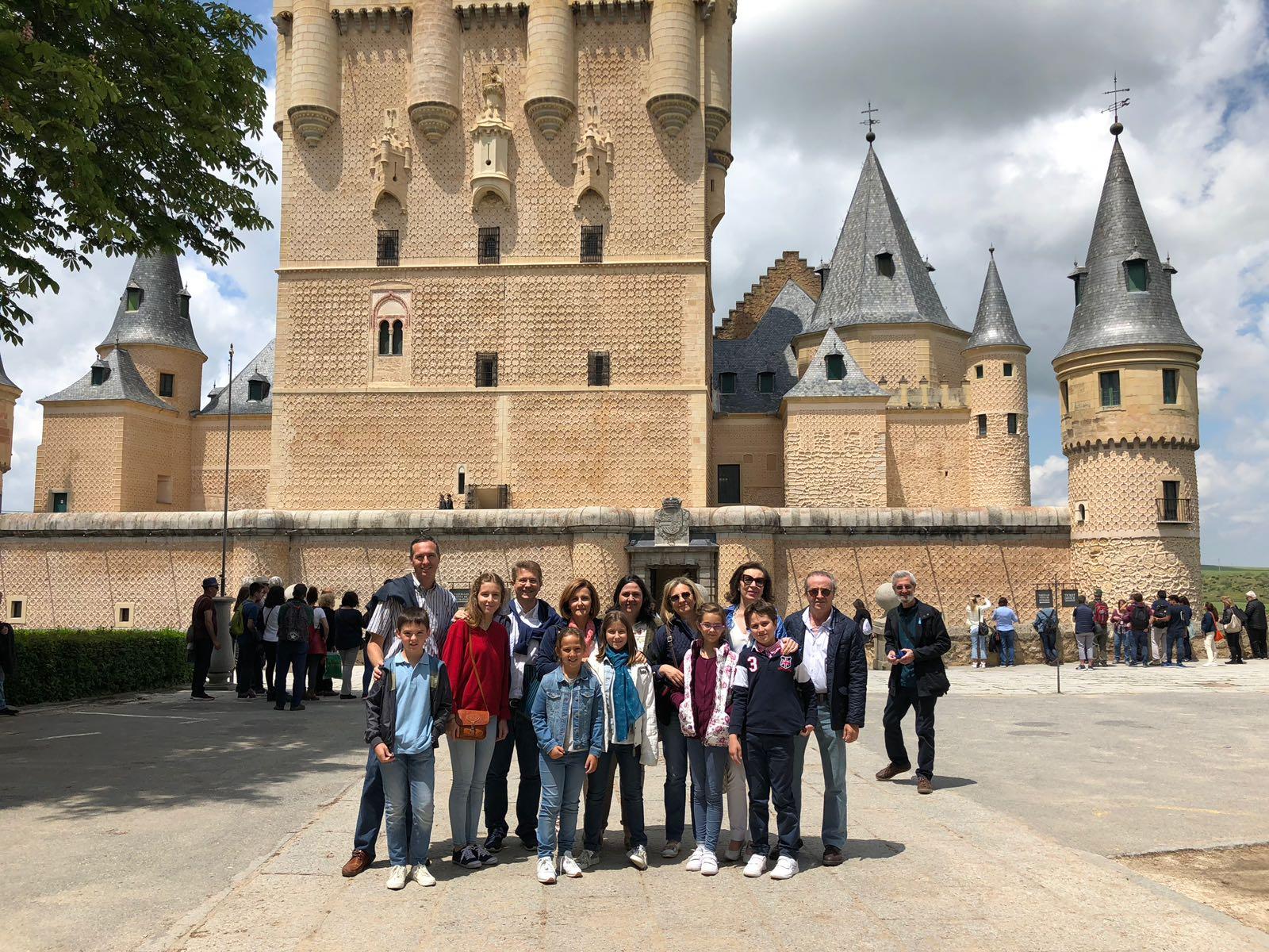Viaje de las Familias del Colegio a Segovia