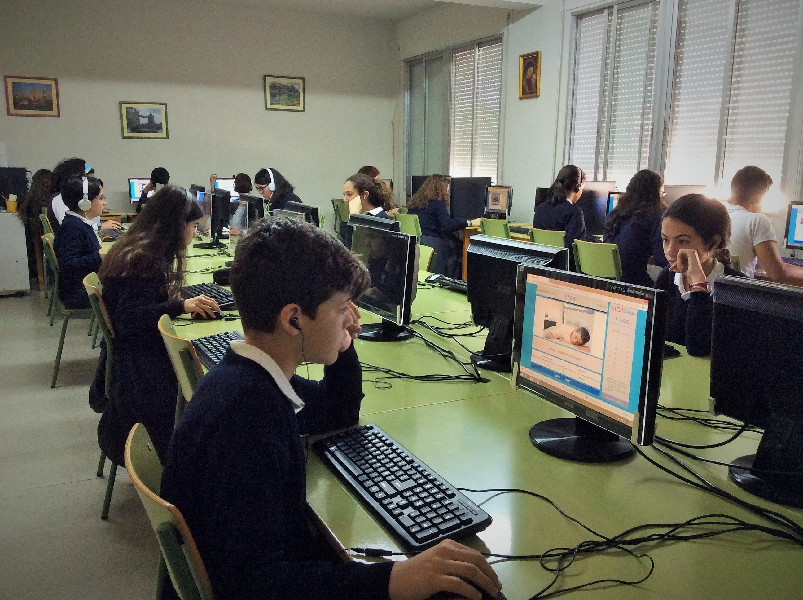 Participamos en un Concurso Internacional de Inglés on line