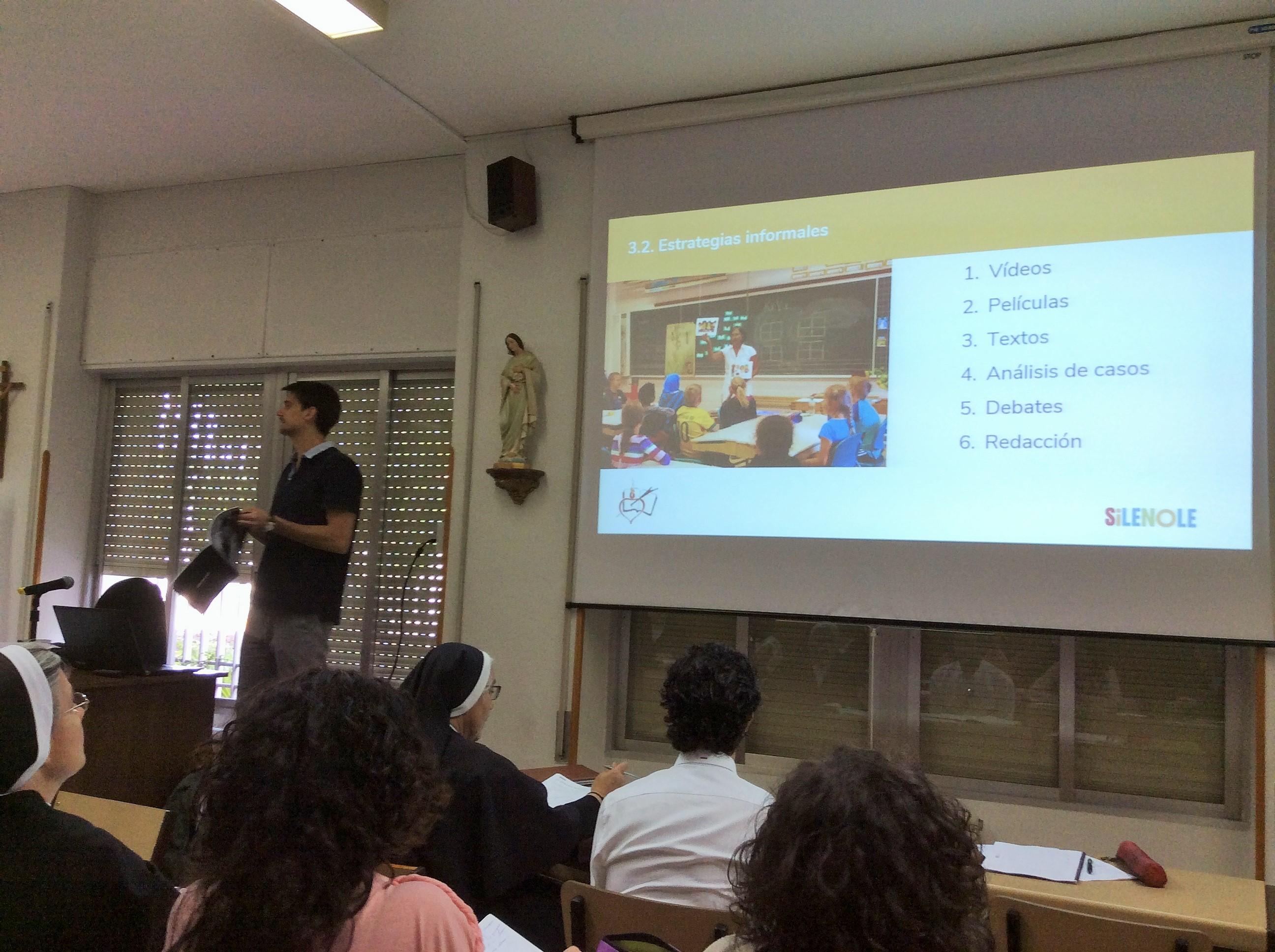 Tercera sesión del Curso de Prevención de Violencia Escolar